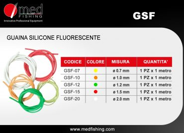 c12 - GSF - GUAINA SILICONE FLUORESCENTE