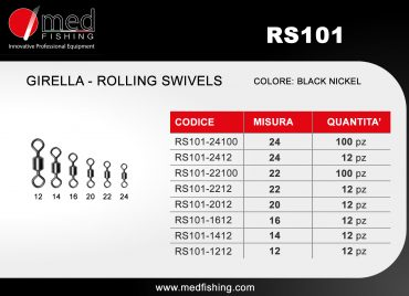 c5 - RS101 - GIRELLA - ROLLING SWIVELS