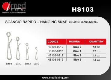 c4 - HS103 - SGANCIO RAPIDO – HANGING SNAP