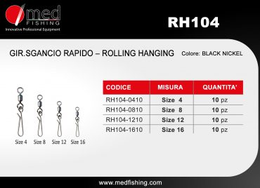 c7 - RH104 - GIR.SGANCIO RAPIDO – ROLLING HANGING