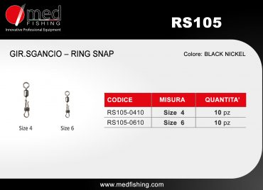 c8 - RS105 GIR.SGANCIO – RING SNAP