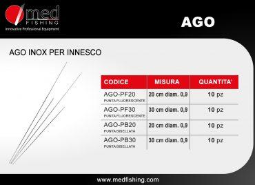 c9 - AGO - ago inox per innesco