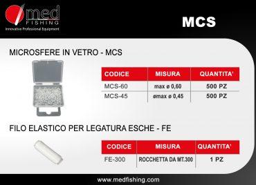 MCS -FE - MICROSFERE IN VETRO - FILO ELASTICO